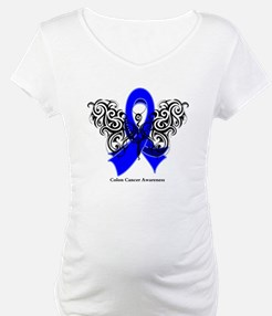 Colon Cancer Tribal Shirt