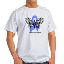 Esophageal Cancer Tribal T-Shirt