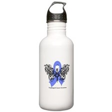 Esophageal Cancer Tribal Water Bottle