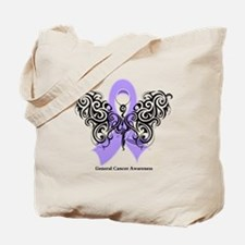 General Cancer Tribal Tote Bag