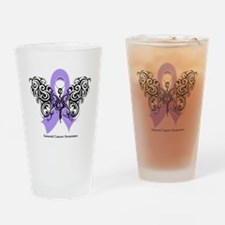 General Cancer Tribal Pint Glass