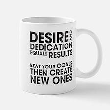 Desire and Dedication Small Small Mug