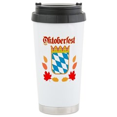 Oktoberfest Stainless Steel Travel Mug