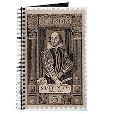 Shakespeare US Stamp Journal