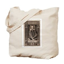 Shakespeare US Stamp Tote Bag