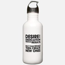 Desire and Dedication Water Bottle