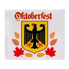 Oktoberfest Throw Blanket