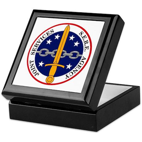 S.E.R.E. Agency Keepsake Box
