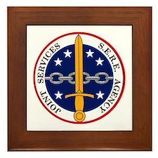 S.E.R.E. Agency Framed Tile