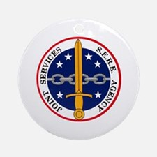 S.E.R.E. Agency Ornament (Round)
