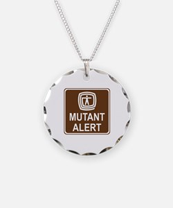 Mutant Alert Necklace