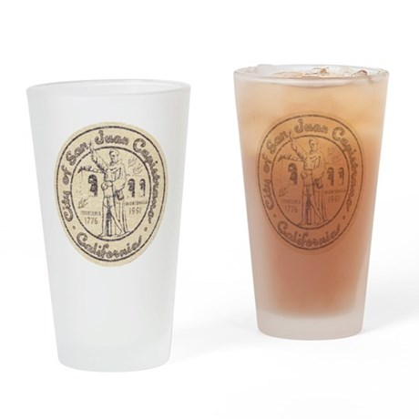 Vintage San Juan Capistrano Pint Glass