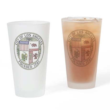 Vintage Los Angeles Pint Glass