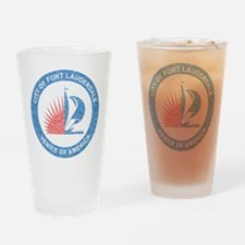 Vintage Fort Lauderdale Pint Glass