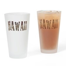 Hawaii Stars and Coffee Pint Glass