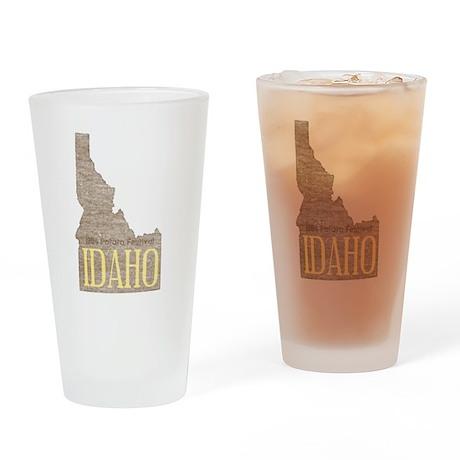 Vintage Idaho Potato Pint Glass