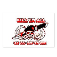 Kill 'em all Postcards (Package of 8)