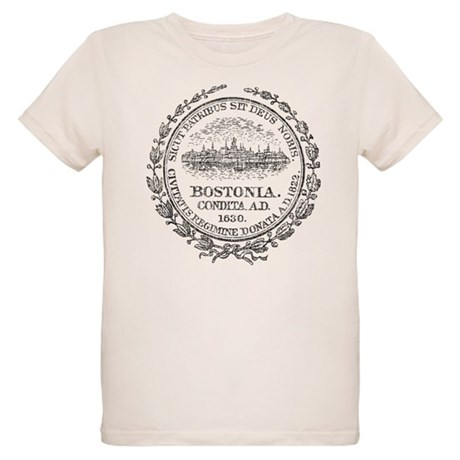 Vintage Boston Organic Kids T-Shirt