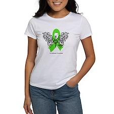 Lymphoma Tribal Butterfly Tee