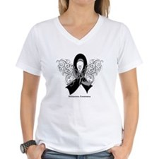 Melanoma Tribal Butterfly Shirt