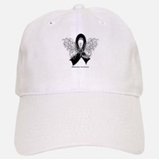 Melanoma Tribal Butterfly Hat