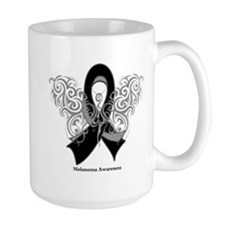 Melanoma Tribal Butterfly Mug