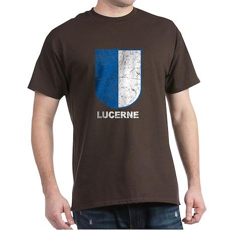 Lucerne Swiss Shield Dark T-Shirt