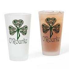 O'Rourke Shamrock Pint Glass