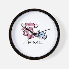 FML Minky Wall Clock