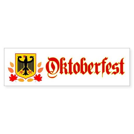 Oktoberfest Sticker (Bumper)