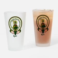Ryan Clan Motto Pint Glass
