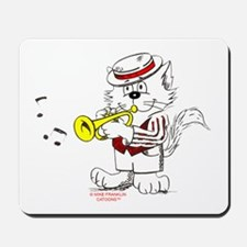 Trumpet Cat: ALL PRODUCTS Mousepad