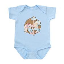 Ice Cream Carousel Infant Bodysuit