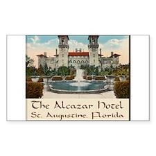 Alcazar Hotel Decal