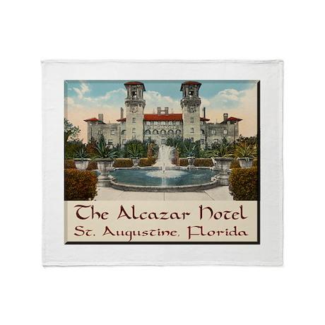Alcazar Hotel Throw Blanket