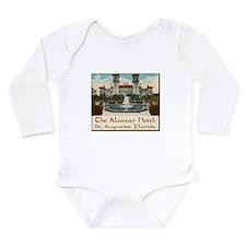 Alcazar Hotel Long Sleeve Infant Bodysuit