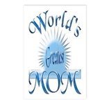 World's Greatest Mom Postcards (Package of 8)