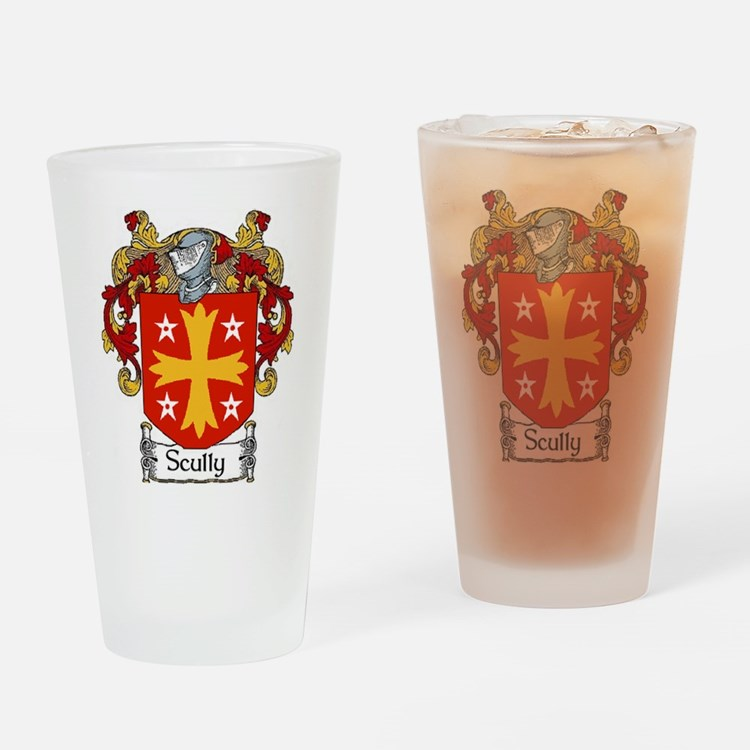 Scully Coat of Arms Pint Glass