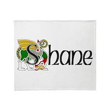 Shane Celtic Dragon Throw Blanket