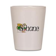 Shane Celtic Dragon Shot Glass