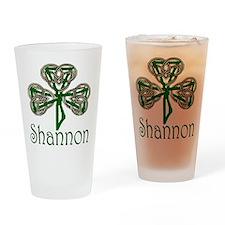 Shannon Shamrock Pint Glass