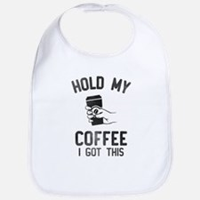 Hold My Coffee Baby Bib