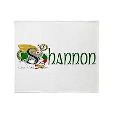 Shannon Celtic Dragon Throw Blanket