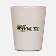 Shannon Celtic Dragon Shot Glass