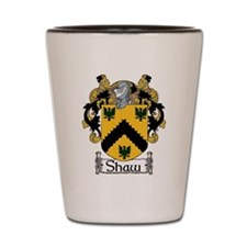 Shaw Coat of Arms Shot Glass