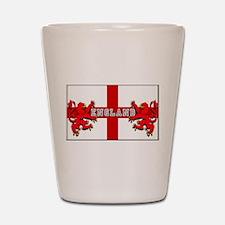 England emblem Shot Glass