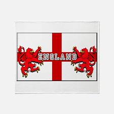 England emblem Throw Blanket