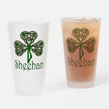 Sheehan Shamrock Pint Glass