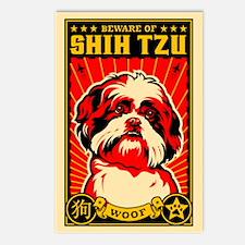 Beware of SHih Tzu! Postcards (Pack of 8)