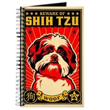 Beware SHIH TZU! World Domination Journal